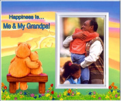 Happiness is Me & My Grandpa! - Picture Frame Gift