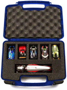 Hard Storage Carrying Case For Anki Overdrive Starter Kit Toy - Stores Up To 6 Robotic Super Cars Safely In Protective Foam