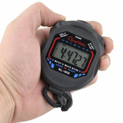 Culater® Digital Professional Handheld LCD Chronograph Sports Stopwatch Timer Stop Watch