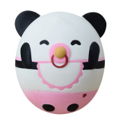 Rcool Creative Cute Stress Reliever Squishy Squeeze Cartoon Panda Super Slow Rising Fun Soft Toy Cellphone Key Chain Charm Pendant Strap Kid Gift