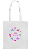 BEST FRIEND Shopping/Tote/Bag For Life/Shoulder Bag By Mayzie Designs®