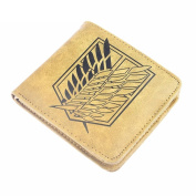 Anime Wallet Purse One Piece Fairy Tail Attack On Titan Death Note Gift for Fan Collection