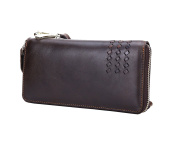 Lemontree Mens' Wallet Genuine Horse Cowhide Leather Vintage Purse z224