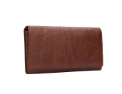 Lemontree Mens' Wallet Genuine Horse Cowhide Leather Vintage Purse z238