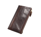 Lemontree Mens' Wallet Genuine Horse Cowhide Leather Vintage Purse z212