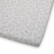 The Little Green Sheep Wild Cotton Cot/Cotbed Fitted Sheet