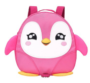 Fanci Cute Penguin Pattern Baby Walking Safety Harness Backpack Ultralight Anti-lost Schoolbag With Safety Leash