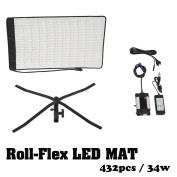 Falcon Eyes RX-12T 432 Lights Lightweight Roll-Flex LED Light Waterproof Lamp