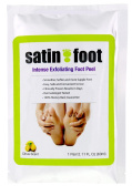 Top Rated Satin Foot Intense Exfoliating Foot Peel Large Size 1 Box Moisturise Feet Luxurious At Home Peel