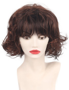 Short curly fluffy synthetic wigs for Sexy Fashion women