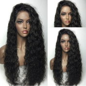 Fennell Brazilian Human Hair Natural Colour Water Wave Lace Front Wig/Full Lace Wig Bleached Knots With Baby Hair For Women