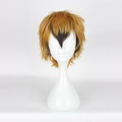 Short Men Wigs Ombre Golden