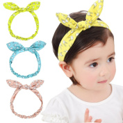 Baby Girl Newest Turban Headband Head Wrap Knotted Hair Band