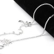 Thinkmax Wedding Bridal Head Chain Hairband Headpiece