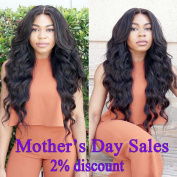 Maysu 7A Brazilian Virgin Hair Body Wave Hair Bundles 100% Unprocessed Remy Human Hair Extensions Natural Black Colour Brazilian Body Wave 3 Bundles 18 20 60cm