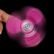 . Fidget Spinner! AMA(TM) Glitters Tri-Spinner Hand Spinner Fingertip Bearing Toy Eau De Cologne Focus Stress Relief Decompression Gyro