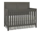 Ti Amo Castello 4 in 1 Convertible Crib, Wire Brushed Grey