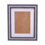 Premium Decor Picture Frame - Wall Hang or Desktop Display - Wood Finish Mordern Designs - Various Sizes 4x6 5x7 8x10 11x14