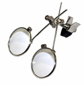 Jewellery double eye loupe clip on magnifier UmbrellaLaboratory