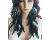 La Liberte Natural Feather Earrings Enchanting Feather Earrings for Women