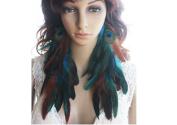 La Liberte Natural Feather Earrings Charming Feather Earrings for Women