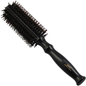 JINDIN Curly Hair Comb Anti Static Wood Handle Round Brushes Hair Scalp Massage Volume Comb Hairdressing Styling Tools Size L