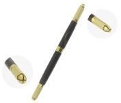 Xiaoyu Double Head 3D Multifunction Manual Tattoo Permanent Makeup Eyebrow Pen Microblading Pen - Brown