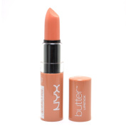 1 NYX BLS BUTTER LIPSTICK BLS13 SUGAR WAFER / NUDE Lip Stick + FREE EARRING