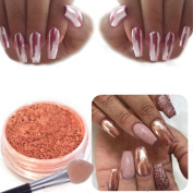 Creazy Sexy Rose Gold Nail Mirror Powder Glitter Chrome Powder Art Decoration