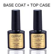 CLHVUZ 10ml CHLVUZ brand soak off long lasting top & base coat