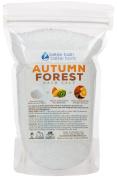 New Autumn Forest Bath Salt - 0.5kg Size (470mls) - Epsom Salt Bath Soak With Cinnamon & Orange Essential Oil Plus Vitamin C Crystals - Evoke Cosy Autumn Memories With All Natural Bath Salts