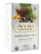 NUMI TEAS TEA CHOC MINT ORG, 12 BG