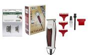 Wahl Professional Double Wide Trimmer with Adjustable T-Blade Bundled with Replacement T-Blade