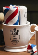 Two's Company Shaving Towels and Mug Set