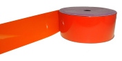 ACI PARTY AND SPIRIT ACCESSORIES Mylar Ribbon, Size #9, 25 yd. Roll, Orange
