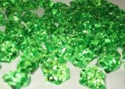 Acrylic Ice Crystal Rocks Vase Filler 23 X 18MM Green
