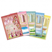 Hunkydory Crafts Claire Coxon's Delightful Deco Specialty Card Kit -- DDECO104