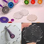 BangBang Paper Quilling Paper Winder Craft DIY Tool Layer Board Flower Shape Handcraft