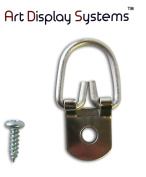 ADS 100 Heavy Duty D-Ring Picture Hangers with Screws by ART DISPLAY SYSTEMS