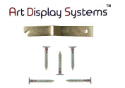 ADS T-Screw / T-Head Security Screw for T-Lock Picture Security Hardware - 25 Pack with Free Wrench by ART DISPLAY SYSTEMS