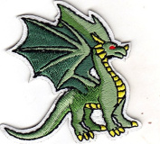 DRAGON - LEGENDARY ANIMAL - FANTASY - MYTHICAL - Iron On Embroidered Patch