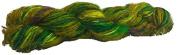 Knitsilk Crush me green Multicolor sari silk yarn -