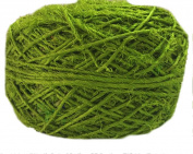 Knitsilk Recycled Sari Silk Yarn - olive green