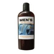 High Calibre Organics Men's Organic Shampoo, New Strengthening Healthier Hair Formulation with Hydrolyzed Wheat Protein, Pro-Vitamins B5 and Vitamin E, Organic Jojoba Oil