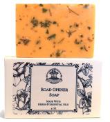 Road Opener Shea Herbal Soap Bar Handmade for New Opportunities & Beginnings Wiccan Pagan Hoodoo