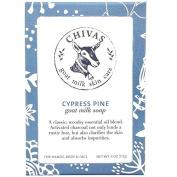 Chivas Cypress Pine Goat Milk Soap - 120ml
