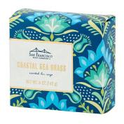 San Francisco Soap Company The Botanical Damask Collection, Costal Sea Grass, 150ml