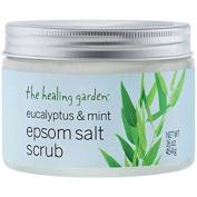 The Healing Garden Eucalyptus & Mint Epsom Salt Scrub 470ml