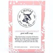 Chivas Lavender Grapefruit Goat Milk Soap - 120ml