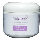 World's Best Foot Balm from Nalpure for Healthy Pretty Feet Care